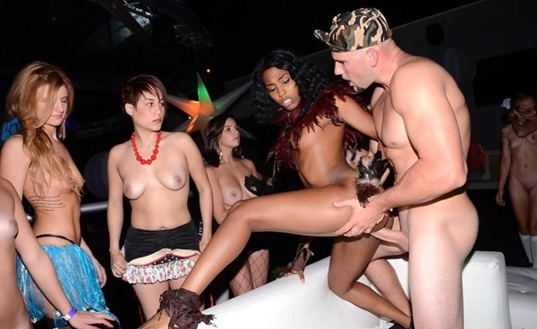 Ebony Fuck Party